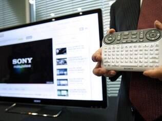 A Sony também desenvolveu um adaptador para o Google TV
