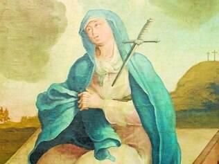 Transição. Obra Nossa Senhora da Soledade marca transição Barroco/Rococó
