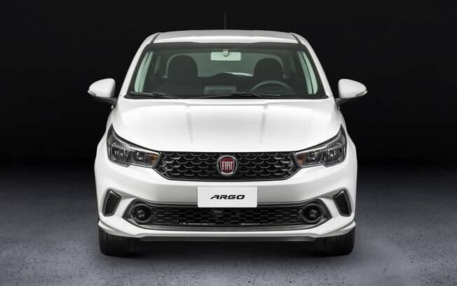 Fiat Argo: versão sedã terá frente parecida com a do hatch, mas contará com caráter um pouco mais sofisticado