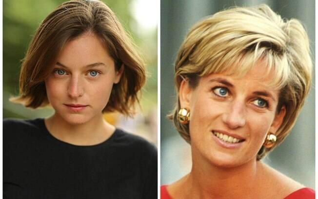 Emma Corrin viverá Princesa Diana em