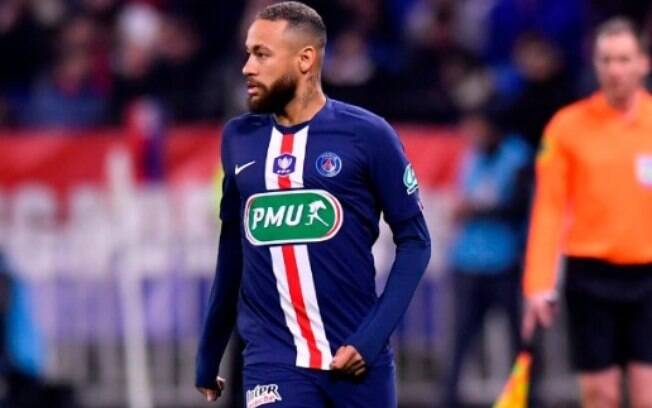 Neymar marcou na goleada do PSG sobre o Lyon