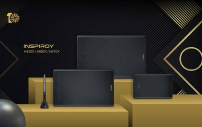Huion lança o Inspiroy H420X, H580X e H610X: edição especial de 10 anos para capacitar todos os artistas em todo o mundo
