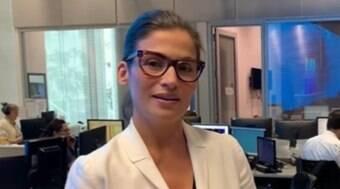 Renata Vasconcellos tira férias do JN após se emocionar ao vivo