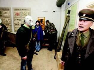 Os visitantes sentem na pele os dramas e a violência do período do regime soviético