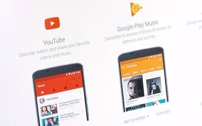 Versão paga do YouTube e Play Music serão unificadas em uma única assinatura para dar acesso a vídeos e músicas