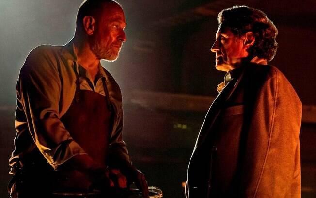 As dez melhores cenas de ''American Gods'': Vulcan é líder de culto à armas e revela que traiu Wednesday