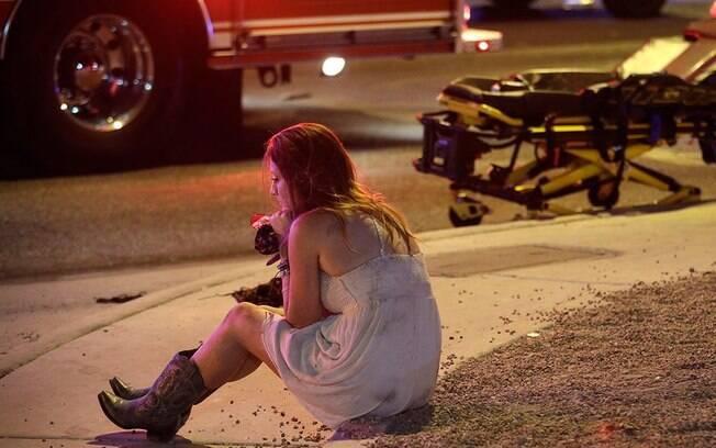 Mais de 50 pessoas morreram no tiroteio que aconteceu nesta madrugada em Las Vegas; o Estado Islâmico diz ser autor