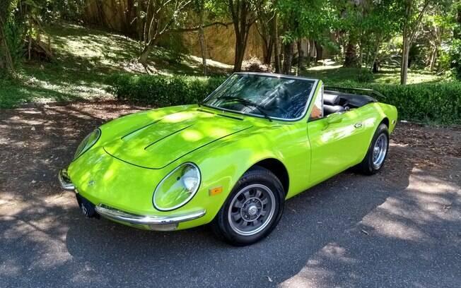 Puma GTE: a chamativa cor verde-limão é um dos pontos de destaque do exemplar