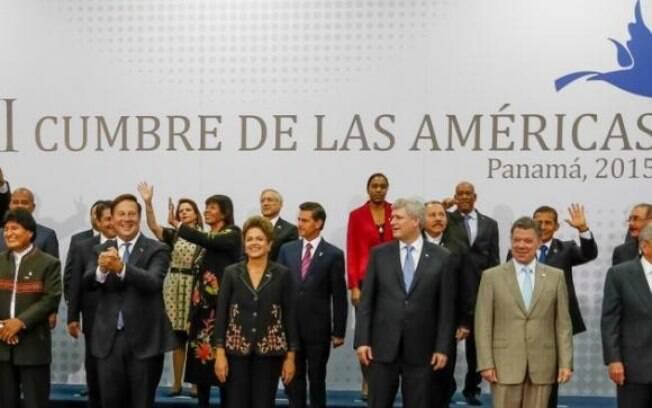 Representantes de 35 países estiveram reunidos por dois dias, no Panamá, na 7ª Cúpula das Américas