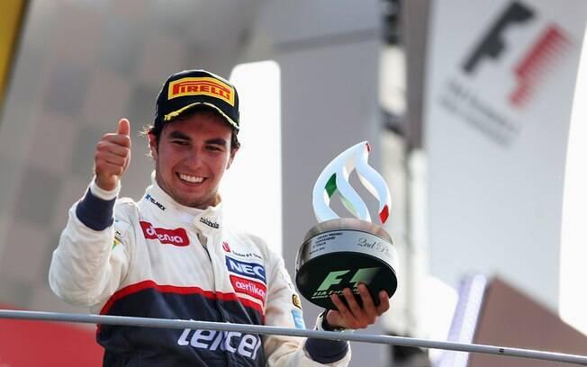 McLaren - Sergio Perez - mexicano trocou a  Sauber pela nova escuderia nesta temporada e  promete dar trabalho