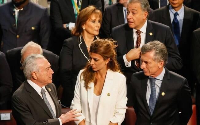 Presidente Michel Temer aproveitou a viagem para conversar com o presidente da Argentina, Mauricio Macri