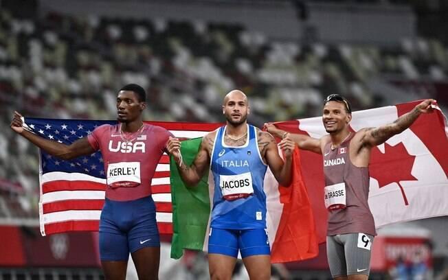 Italiano leva ouro nos 100m e é o novo homem mais rápido do mundo