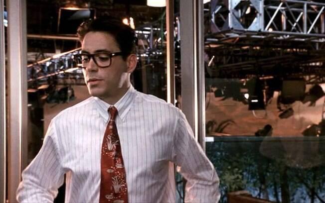 Robert Downey Jr em 'Segredos de uma Novela' (1991). Foto: Div
