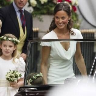 Depois do casamento real, o Reino Unido teve um aumento de 65% do nome Pippa - ou Phillipa