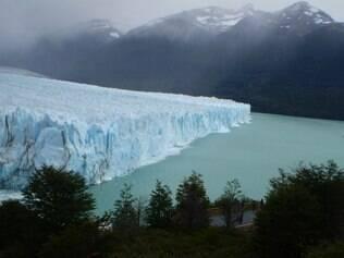 Glaciar Perito Moreno, na Patagônia Argentina