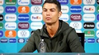 Marca lança garrafa de água em homenagem a Cristiano Ronaldo