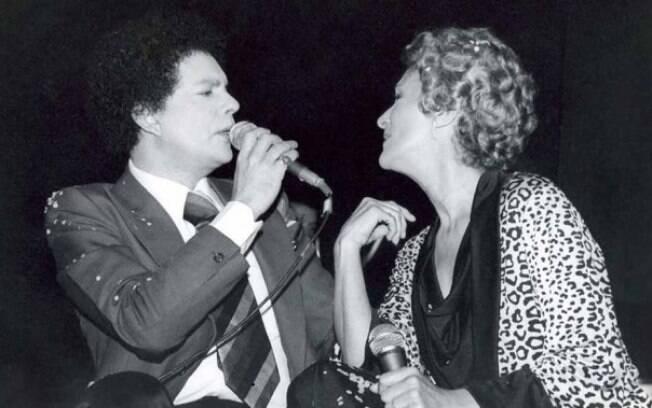O cantor Cauby Peixoto em 1979. Foto: Divulgação