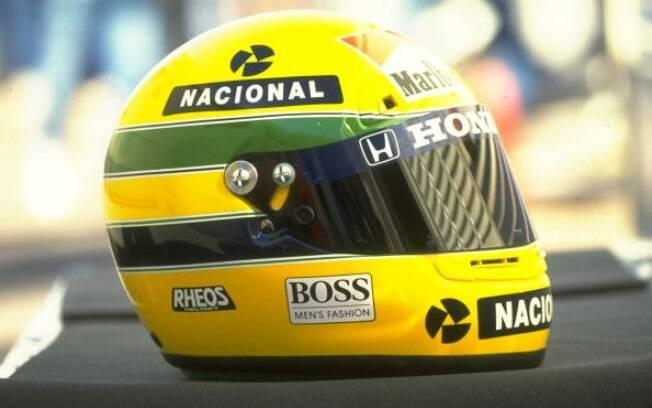 Capacete de Ayrton Senna
