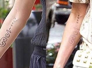 Heidi Klum começa processo para apagar tatuagem que fez em homenagem ao ex-marido Seal