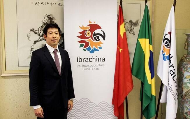 Thomas Law, presidente do Ibrachina