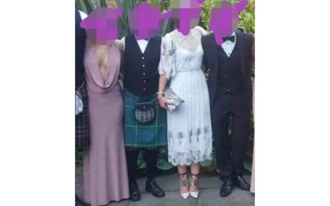 A convidada foi alvo de inúmeras críticas no Facebook por escolher um look