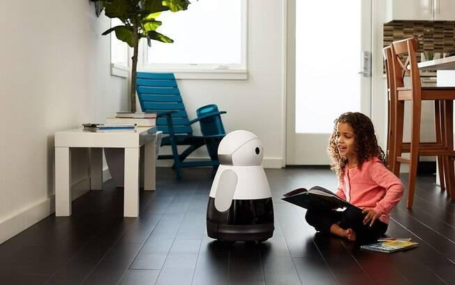 Apresentado na CES 2017, Kuri pode ser uma boa companhia para as crianças; robô também pode observar casa vazia