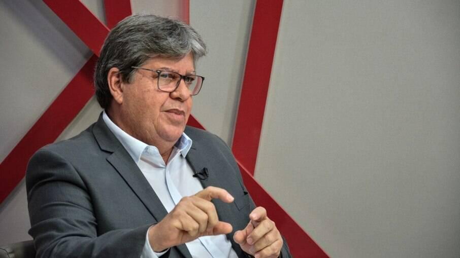 Governador da Paraíba João Azevedo