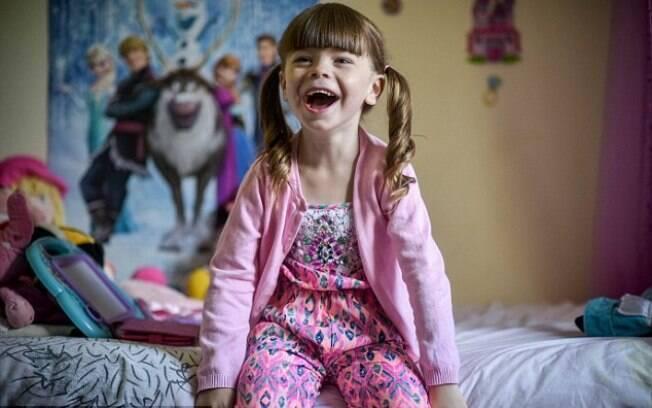 Aos 3 anos, Danni se reconhece como uma menina e teve todo o apoio dos pais