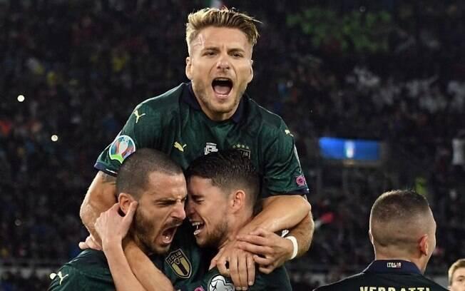 Itália garantiu vaga na Euro2020