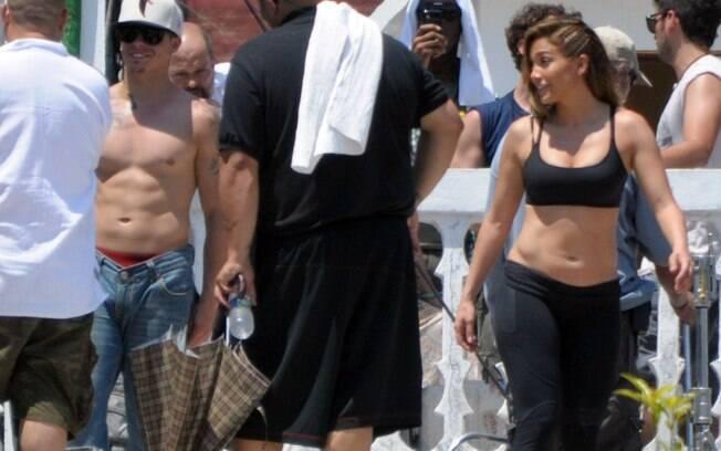 Jennifer Lopez gravou seu novo clipe no México