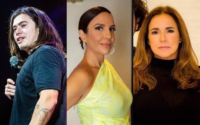 Whindersson Nunes%2C Ivete Sangalo e Daniela Mercury