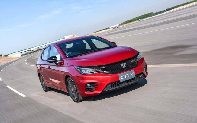 Honda City ganha aparência de Civic em sua nova geração, que será produzida em Itirapina (SP)