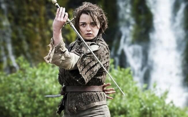 Arya Stark passou por um longo processo de evolução, e é uma das personagens favoritas de