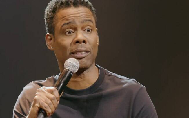 Chris Rock em especial original da Netflix de stand up comedy