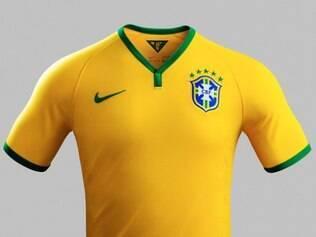 Seleção brasileira atuará nas três primeiras partidas com a tradicional camisa amarela