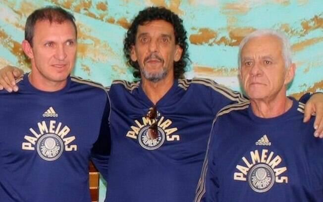 João Marcos, no centro da foto, morreu aos 66 anos