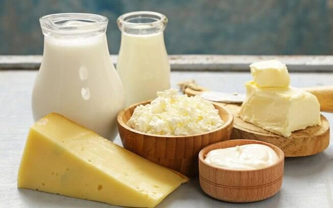 leite e derivados