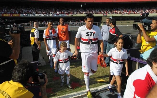 Ganso se recuperou de lesão e foi relacionado  pela primeira vez pelo técnico Ney Franco