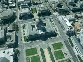 Google mostra mapas em 3D do Google Earth são produzidos a partir de imagens de satélite