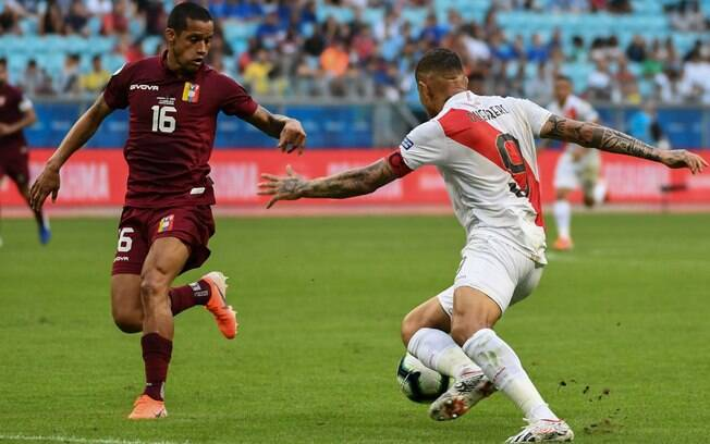 Peru e Venezuela ficam apenas no empate em estreia na Copa América