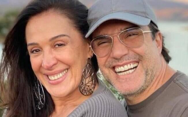 Claudia Raia e Jarbas querem filhos