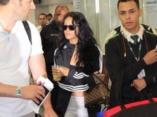 A cantora chega ao Rio, que faz frio nessa sexta (11)