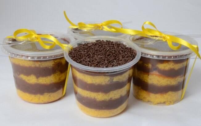 Além de ser delicioso, o bolo de pote é perfeito para vender