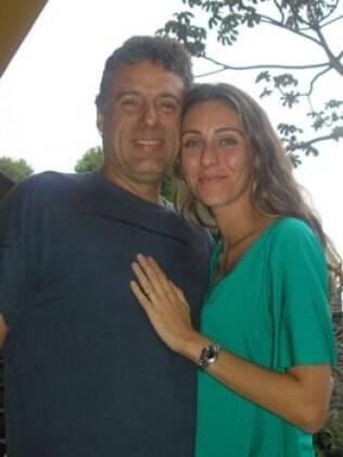 Fábio Barreto e Deborah Kalume