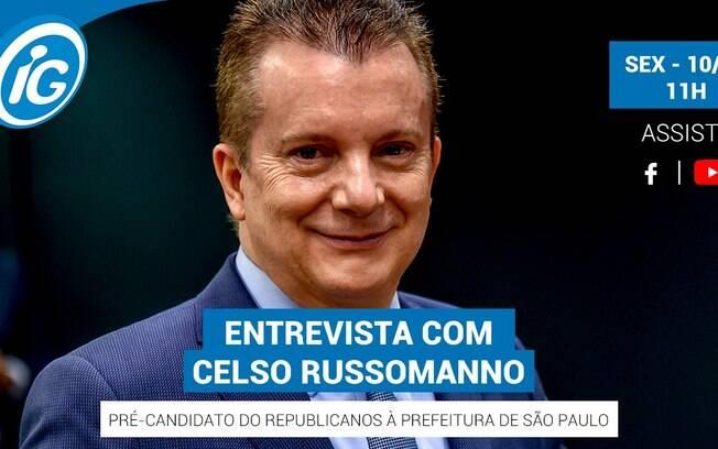 Celso Russomano será o entrevistado desta sexta