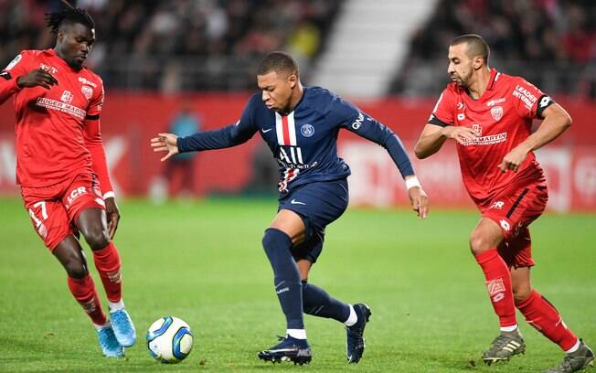 Dijon x PSG