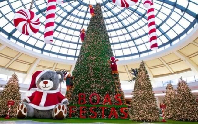 Shoppings oferecem cartinha digital para o Papai Noel