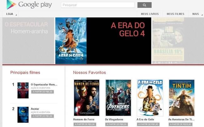 Google Play estreia no Brasil com filmes de grandes estúdios