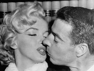 Joe DiMaggio a Marilyn Monroe foram casados por pouco tempo