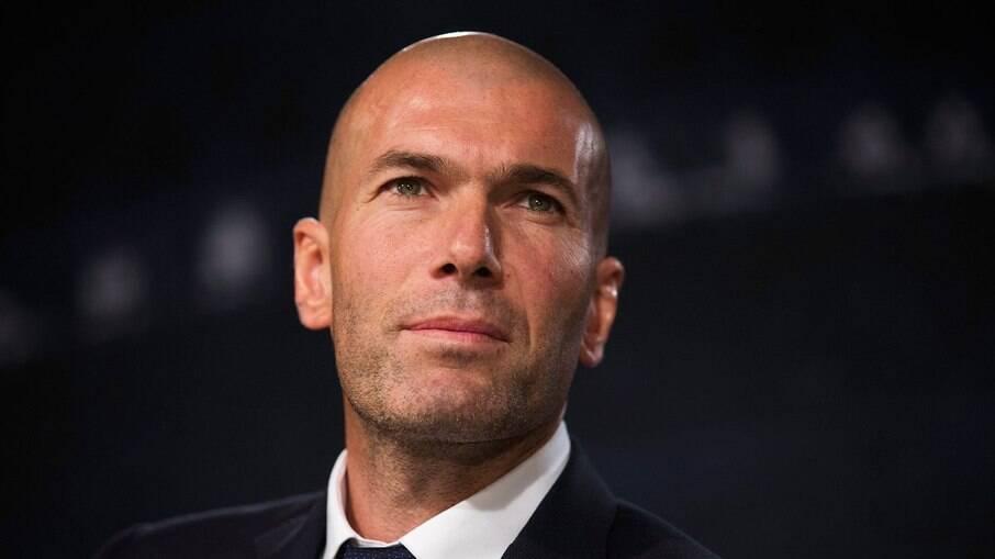 Zinedine Zidane não gostou de atitude de Vinícius Júnior